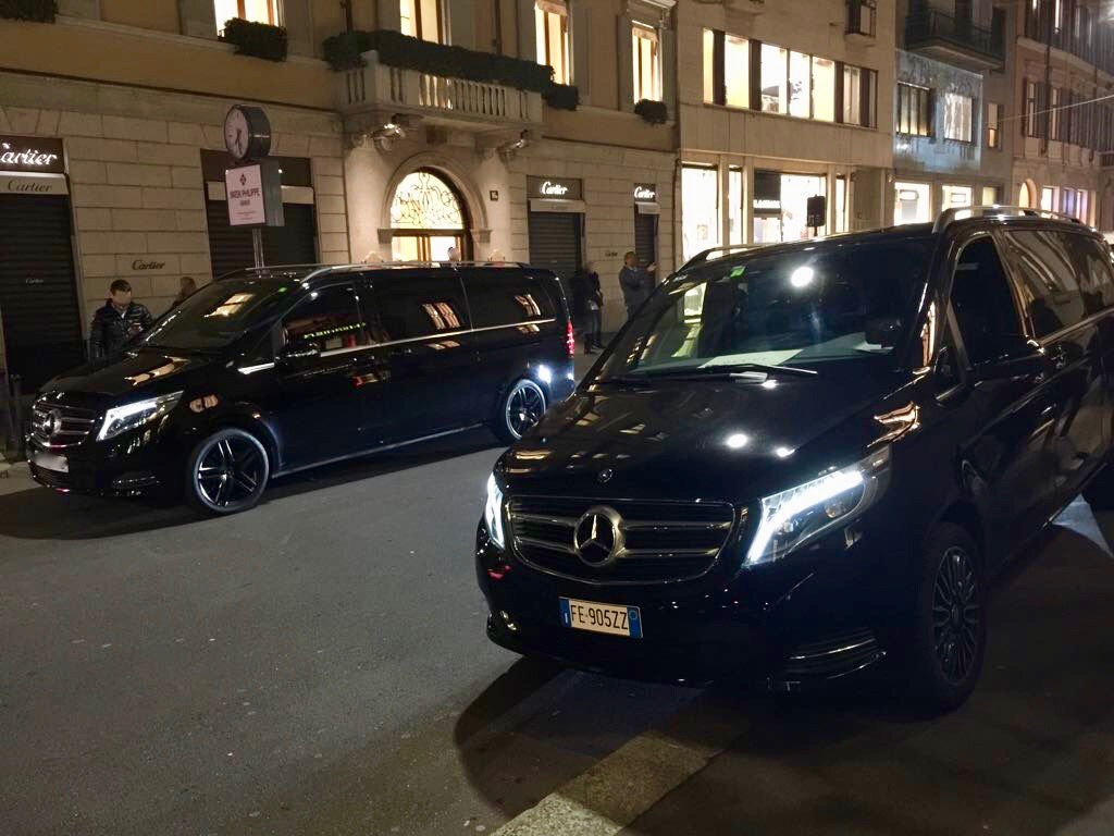 Varenna Lake Como car transfers night service